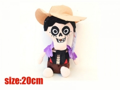 Coco Movie Disney Cartoon Cosplay Hector Rivera Doll Wholesale Anime Plush Toy 20CM