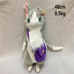 Re: Zero Kara Hajimeru Lsekai Seikatsu Anime Cute Cat Plush Toy
