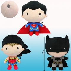3 Style Justice League Cosplay Cute Doll Anime Plush Toy