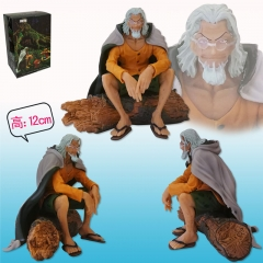 One Piece Silvers Rayleigh Cartoon Model Japanese Anime Figure