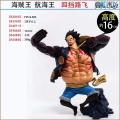 One Piece Luffy Cartoon Figure Decoration Japanese Strong Anime Figure Toys 16cm