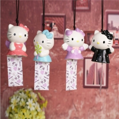 Hello Kitty Ceramic Anime Windbell Wind Chime