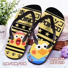 Poinko Cosplay Cartoon Soft Rubber Slippers Anime Flip-flops