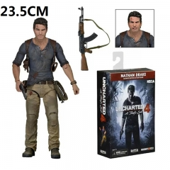 Uncharted Drake Cartoon Toy Wholesale Anime Action Figure 23.5CM