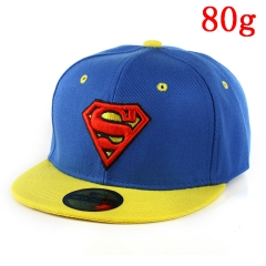 Marvel Comics Superman Blue and Yellow Hip Hop Hat Anime Baseball Cap 80g