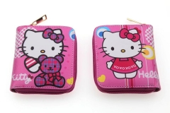 Hello Kitty Anime PU Leather Pink Lovely Wallet