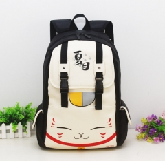 Natsume Yuujinchou For Student With Headphone Hole Anime Backpack Bag