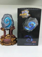 World of Warcraft Hearth Stone 1:1 Breathing Lamp Bright PVC Anime Figure
