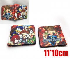 Kingdom Hearts Cosplay Game Cartoon Purse PU Leather Anime Wallet