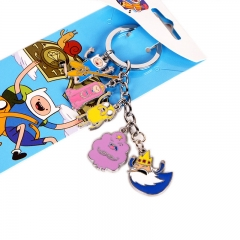 Adventure Time Decorative Cosplay Pendant Anime Keychain