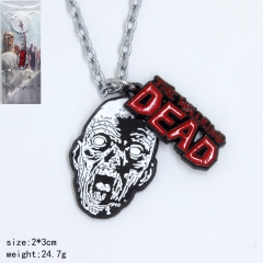 The Walking Dead Cosplay Fancy Pendant Anime Necklace