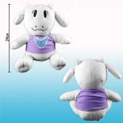 Undertale Asriel Cute Cartoon Collection Doll Anime Plush Toy 24CM
