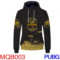 Player Unknown's Battle Grounds Cosplay Game Anime Hoodie