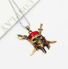 Pirates of the Caribbean Cosplay Movie Pendant Anime Necklace