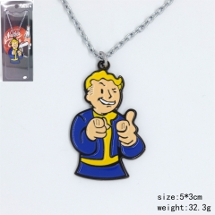 Fallout 4 Cosplay American Game Figure Anime Necklace
