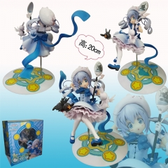 Is the Order a Rabbit Kafuu Chino Cartoon Toys Wholesale Japanese Anime Figure Collectable 20CM