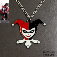 Suicide Squad Quinn Cute Cosplay Pendant Anime Necklace