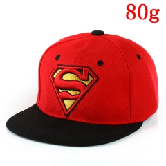 Marvel Comics Superman Black and Red Hip Hop Hat Anime Baseball Cap 80g