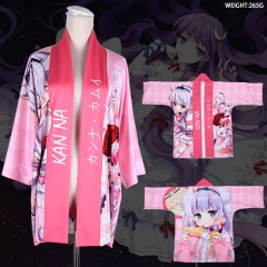 Miss Kobayashi's Dragon Maid Print Pink Cosplay Anime Costume