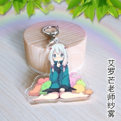 Eromanga Sensei Anime Cartoon Cute Girls Acrylic Keychain 30g