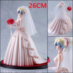 Myethos Tengen Toppa Gurren Lagann Renia Cartoon Toys Wedding Dress Wholesale Anime Figure 26CM