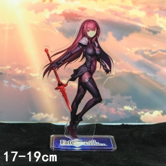 Fate Stay Night Scáthach Cartoon Toys Double Side Printed Anime Standing Plates Acrylic Figure