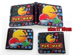 Pacman Game PU Leather Cute Fancy Wallet