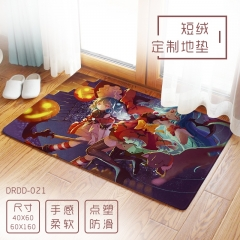 Bilibili Cartoon Fluff Custom Wholesale Anime Carpet 40*60cm