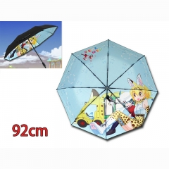 Kemono Friends Cartoon Color Printed Wholesale Anime Umbrella