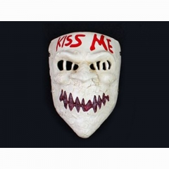 The Purge Movie Cartoon KISS ME Cosplay Wholesale Anime Resin Mask