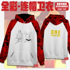 One Punch Man Cosplay Cartoon Healthy Fabric Anime Hoodie (S-3XL)