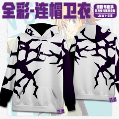 The Seven Deadly Sins Cosplay Cartoon Healthy Fabric Anime Hoodie (S-3XL)
