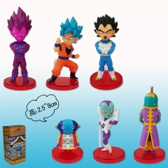 Dragon Ball Fourth Generation For Kids Toy Anime Figure 6pcs/set