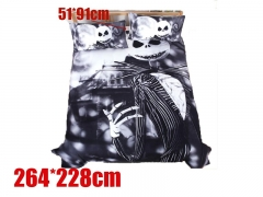 Nightmare Before Christmas Polyester Anime Quilt Cover