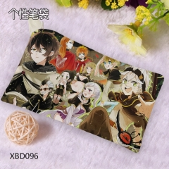 Black Clover Cosplay For Student Anime Pencil Bag