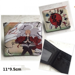 Cartoon Natsume Yuujinchou Anime PU Leather Wallet