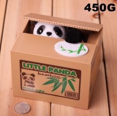Panda Interesting Steal Money For Kids Toy Anime Money Pot