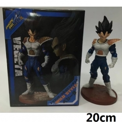 Dragon Ball Z Vegeta Cartoon Wholesale Anime PVC Figure Toys With Box 20cm