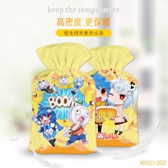 Bilibili Cartoon Hands Yellow Anime Hot-water Bag For Warm