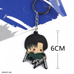 Attack on Titan Cosplay Soft Plastic Maruro Pendant Anime Keychain