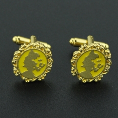 Beauty and the Beast Alloy Anime Cufflinks  (10pcs/set)