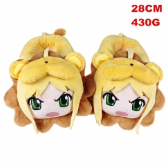 Fate Stay Night Cosplay Cute For Adult Anime Plush Slipper