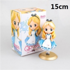 Disney Princess Alice Cartoon Model Toys Cute Wholesale Anime PVC Figure 15cm