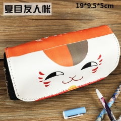 Natsume Yuujinchou Anime Cute Cartoon PU Pencil Bag