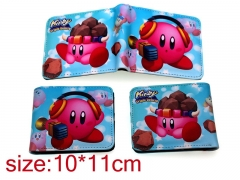 Kirby Cosplay Japanese Game Folding Purse Anime Wallet
