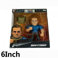 Fast & Furious Brian O'Conner Cartoon Anime Figure With Wrench Weapon 6Inch