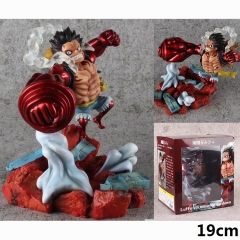 One Piece GK Luffy VS mingo Strong Cartoon Toys Japanese Anime PVC Figure 19cm