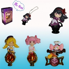 Puella Magi Madoka Magica Cartoon Toys Wholesale Anime Figure Pendant Set Of 4