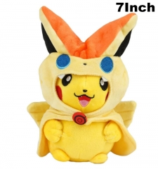 Pokemon Cosplay Pikachu For Kids Doll Anime Plush Toy