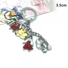 Inuyasha Japanese Cartoon Fancy Design Anime Alloy Keychain